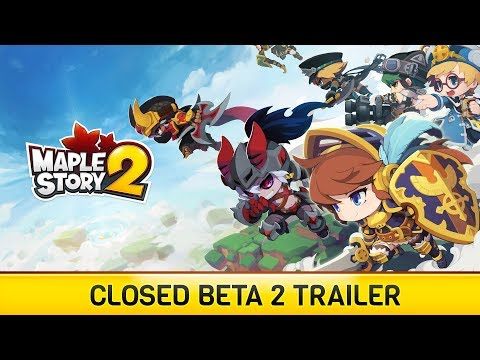 MapleStory 2 Closed Beta 2 Trailer thumbnail