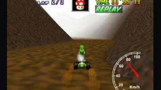 "Mario Kart 64 - Choco Mountain 1lap 38""90"