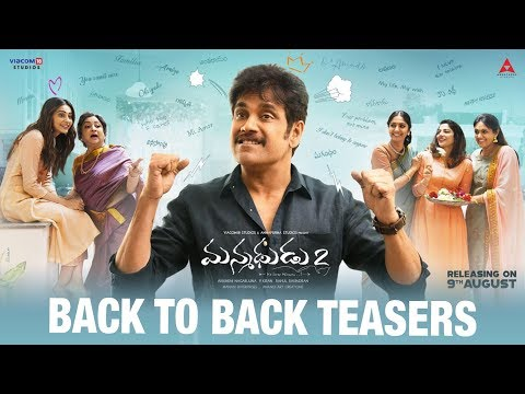 Manmadhudu 2 Telugu Movie hilarious back to back teaser