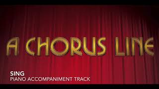 Sing - A Chorus Line - Piano Accompaniment/Rehearsal Track