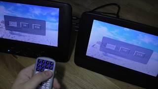 Review - Tragbarer DVD Player fürs Auto von Ukelove