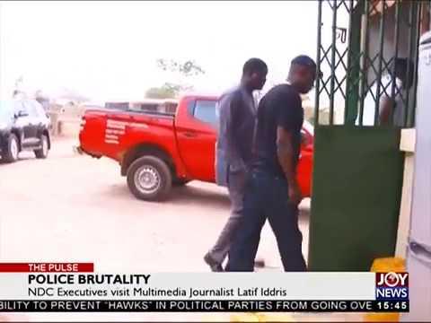 Police Brutality - The Pulse on JoyNews (2-4-18)