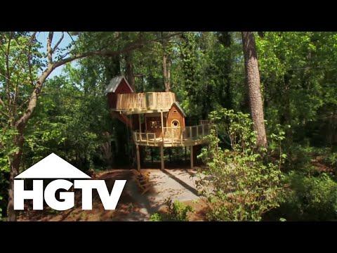World's Best Treehouse Design for Kids - HGTV