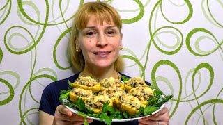 Закуска на праздничный стол с сыром и грибами, вкусно просто и быстро