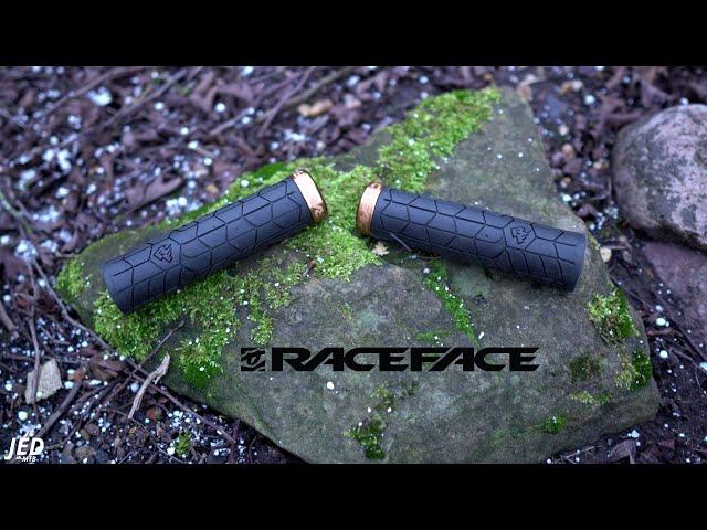 Видео Ручки руля RaceFace Getta Grips зелено-черные