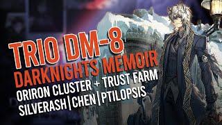 Ptilopsis  - (Arknights) - [Arknights] 3 Operators DM-8 Event Item/Oriron Cluster/Trust Farming(feat. SilverAsh,Chen,Ptilopsis)