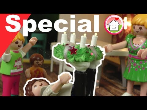 Playmobil deutsch - Advent bei Familie Hauser - Pimp my PLAYMOBIL