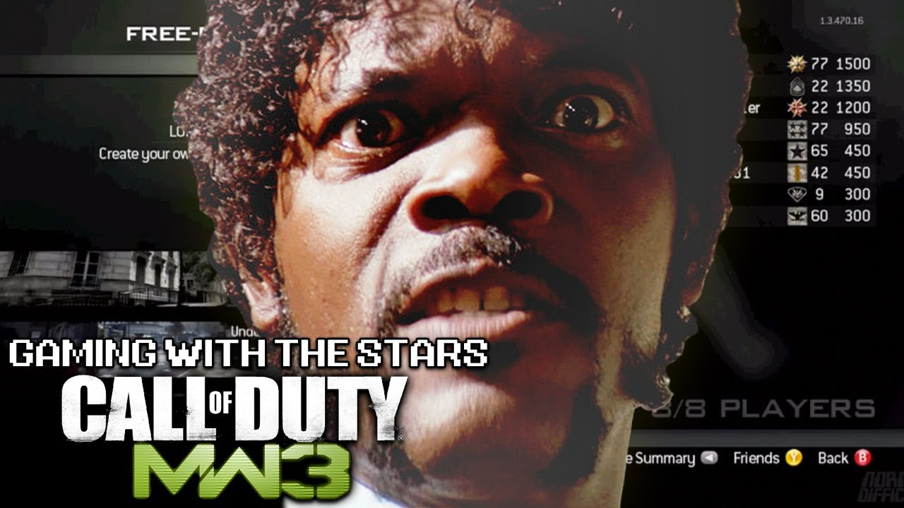 Samuel L Jackson Now Plays Modern Warfare 3