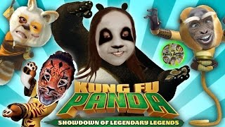 KUNG FU PANDA 3 FAMILY BATTLE! Showdown of Legenendary Legends (FGTEEV Fighting Gameplay)