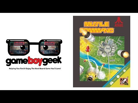 The Game Boy Geek Reviews Missile Command