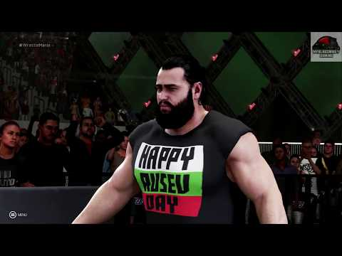 WWE 2K19 - Intercontinental Championship Fatal Four Way Match Wrestlemania Universe Mode !!!!!!!!