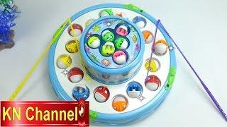 Đồ chơi trẻ em Bé Na câu cá tập 3 chơi cùng KN Channel Fishing playset Childrens toys