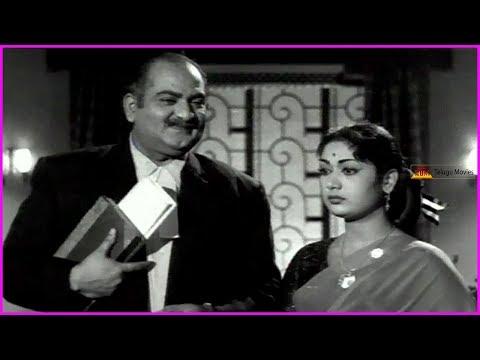 Manchi Manasulu Movie - Part 9 | ANR | Savitri | SV Ranga Rao | Showkar Janaki