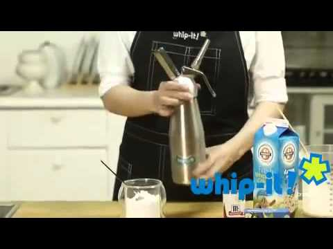 How to use a cream whipper