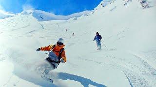 тест горных лыж HEAD SUPERSHAPE 164