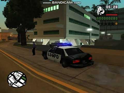 руское GTA san andreas видео--за нами едут полицаи