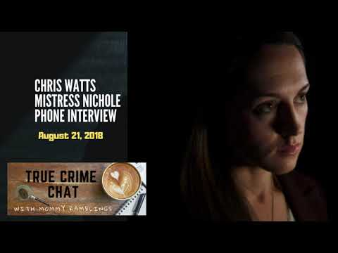 Chris Watts' Mistress Interview with CBI - The One With Her