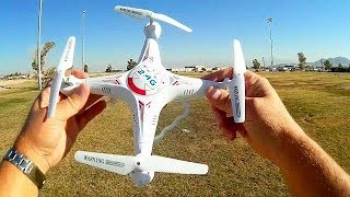 Upgraded Bayangtoys X5C-1 720p HD FPV Drone Flight Test Review