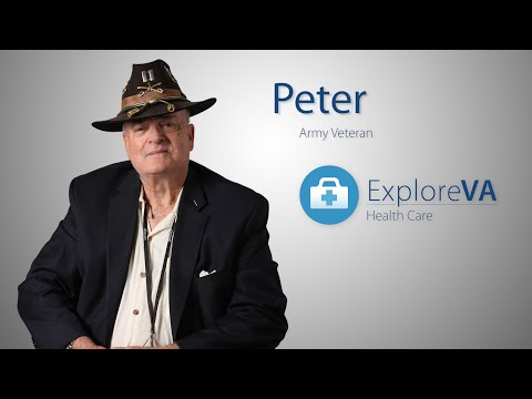 Physical therapy from VA helps Peter live better.
