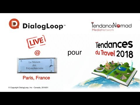 Award Ceremony: Tendance du Travel 2018 - Paris, France