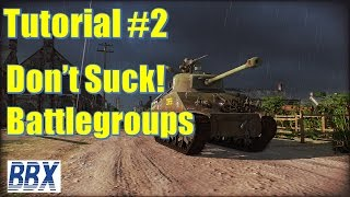 Steel Division Normandy 44 | Tutorial #2I Battlegroups
