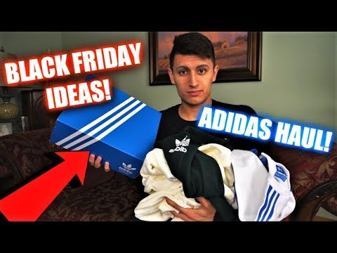 Adidas Streetwear Haul and UNBOXING! Black Friday, Cyber Monday ideas!
