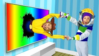 Max and Katya play in Toy Story adventure with Magic TV