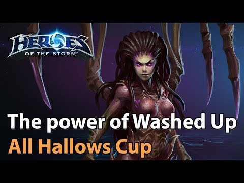 ► Heroes of the Storm: Washed Up vs. Hoplita Esports - All Hallows Cup