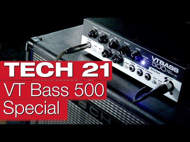 Tech 21 VT Bass 500 Amp & Cabinet (Exklusiv bei uns)