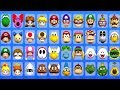 Mario Super Sluggers All Characters