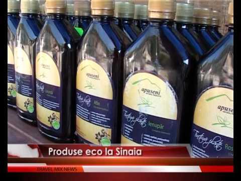 Produse eco la Sinaia – VIDEO