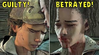 Clem Crying For Romancing Louis But Saving Violet -All Choices- The Walking Dead Final Season Ep3