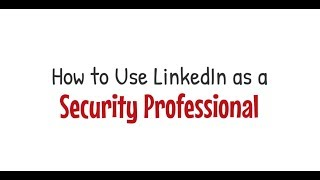 LinkedIn and Your Security Clearance