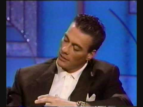 Van Damme on Arsenio Hall (Lionheart) Part 2