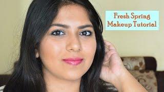 Image for video on Fresh Spring Makeup Tutorial for Indian Skin   Bhumika Thakkar by Bhumika Thakkar