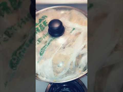 Moro de Guandules con Coco (Rice, Pigeon Peas and Coconut Milk) #dominicancooking #luchyskitchen