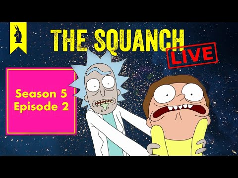 """The Decoys' Decoys """"Mortyplicity"""" (S05E02) - The Squanch"""