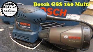 Bosch Professional GSS 160 Multi Schleifer in der L-BOXX Unboxing