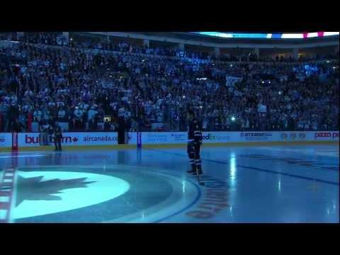 October 9, 2011 - Hockey Night in Canada (HNiC) - The Return of the Winnipeg Jets