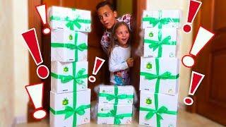 ОДНИ ДОМА нашли КОРОБКИ с игрушками и сладостями от ZetBox Куклы ЛОЛ Посылка с СЮРПРЗАМИ