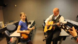 11 year old singing with Vincent & Dailey Bear Tracks