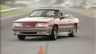 MotorWeek | Retro Review: '88 Ford Mustang GT Convertible