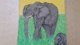 Elephant Art | Failed Humanity | Rest In Peace