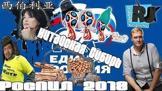 РосПИЛ 2018: Единая Россия - китайская Сибирь...