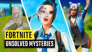Fortnite | 10 Unsolved Mysteries | Can you predict the future?