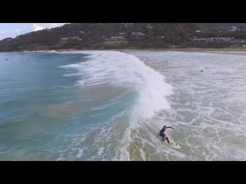 Solid wave via drone at Wye River