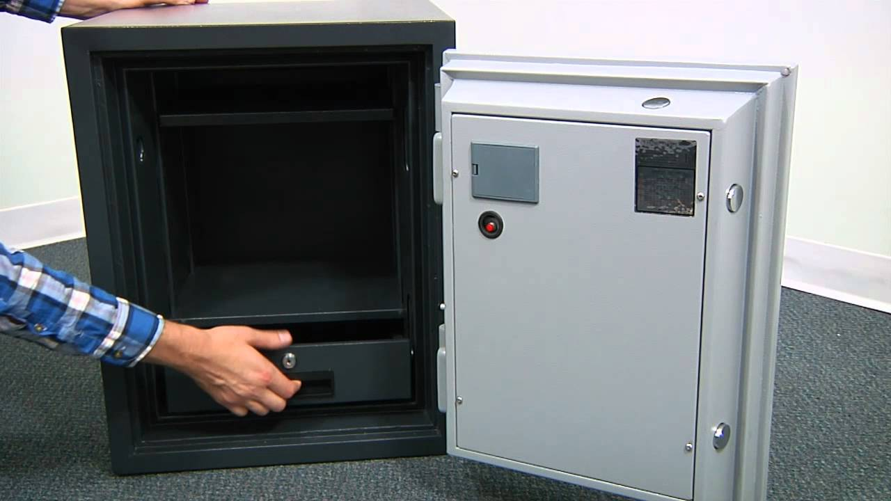 LockState LS-60DH Fireproof Electronic Safe