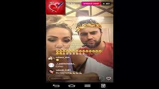 Лиза Триандафилиди и Алексей Чайчиц прямой эфир 27 11 2017 Дом2 новости 2017