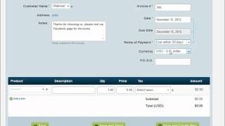 Wave Accounting Part 4: Creating Income Transactions