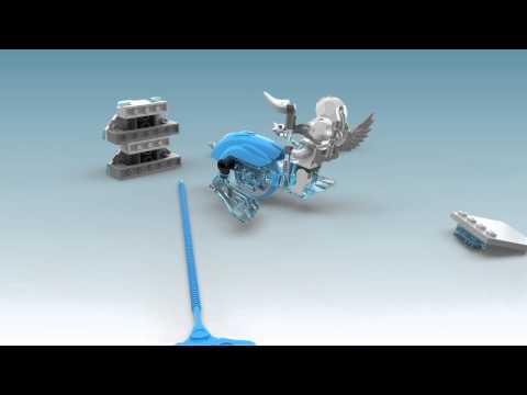 Vidéo LEGO Chima 70151 : VoomVoom - Challenge : Les pointes de glace